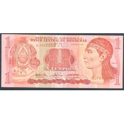 Honduras 1 Lempira PK 84d (26-8-2.004) S/C
