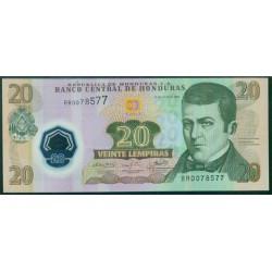 Honduras 20 Lempiras PK 95 (2.008) S/C