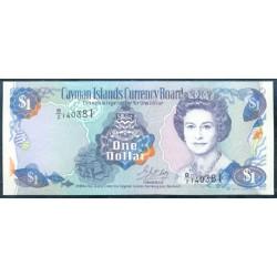 Islas Caimán 1 Dólar PK 16b (1.996) S/C
