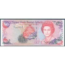Islas Caimán 10 Dólares PK 28 (2.001) S/C