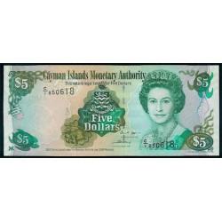 Islas Caimán 5 Dólares PK 34 (2.005) S/C