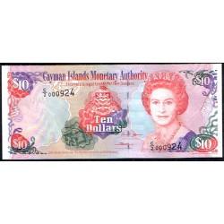 Islas Caimán 10 Dólares PK 35 (2.005) S/C