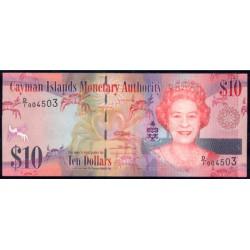 Islas Caimán 10 Dólares PK 40 (2.010) S/C