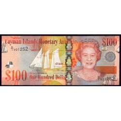Islas Caimán 100 Dólares PK 43 (2.010) S/C