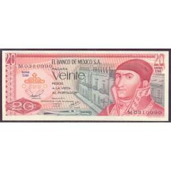 Méjico 20 Pesos PK 64d (8-7-1.977) S/C