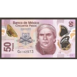 Méjico 50 Pesos PK 123l (12-6-2.012) S/C