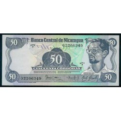 Nicaragua 50 Córdobas PK 140 (1.985) S/C