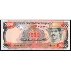 Nicaragua 5.000 Córdobas PK 146 (11-6-1.985) S/C