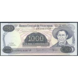 Nicaragua 500.000 Córdobas en 1.000 Córdobas PK 150 (1.987) S/C