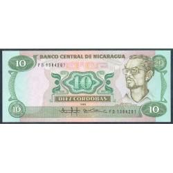 Nicaragua 10 Córdobas PK 151 (1.985) S/C