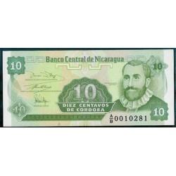 Nicaragua 10 Cent. de Córdoba PK 169 (1.991) S/C