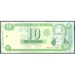 Nicaragua 10 Córdobas PK 191 (2.002) S/C