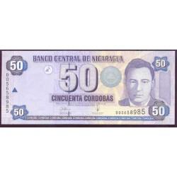 Nicaragua 50 Córdobas PK 198 (2.006) S/C