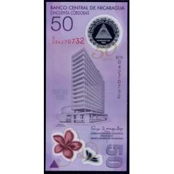 Nicaragua 50 Córdobas PK 207 (01/01/2011) S/C