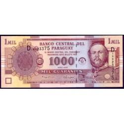Paraguay 1.000 Guaraníes PK 222b (2.005) S/C