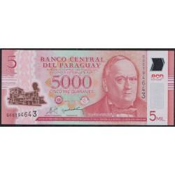 Paraguay 5.000 Guaraníes PK 234 (2.011) S/C