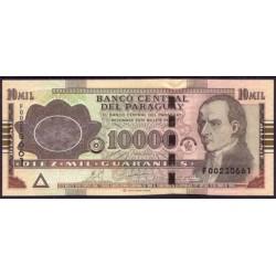 Paraguay 10.000 Guaraníes PK 224d (2.010) S/C