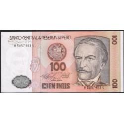 Perú 100 Intis PK 132b (06-3-1.986) S/C