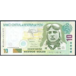 Perú 10 Nuevos Soles PK 179b (21-12-2.006) S/C