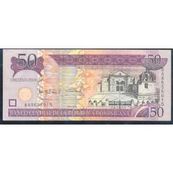 Rep. Dominicana 50 Pesos Oro PK 176a (2.006) S/C
