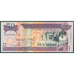Rep. Dominicana 50 Pesos Oro PK 176b (2.008) S/C