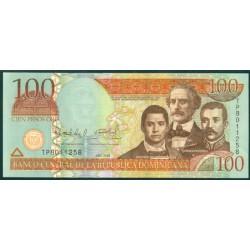 Rep. Dominicana 100 Pesos Oro PK 177b (2.009) S/C