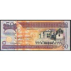 Rep. Dominicana 50 Pesos Dominicanos PK 183 (2.011) S/C