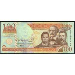 Rep. Dominicana 100 Pesos Dominicanos PK 184 (2.011) S/C