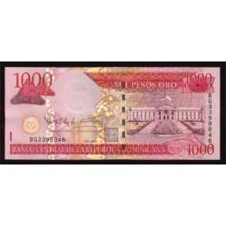 Rep. Dominicana 1.000 Pesos Oro PK 173c (2.004) S/C