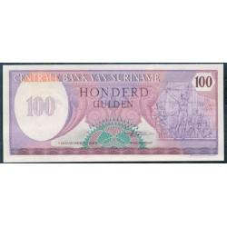 Surinam 100 Gulden PK 128b (1-11-1.985) S/C