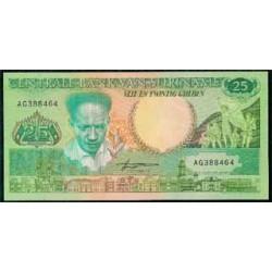 Surinam 25 Gulden PK 132b (1.988) S/C