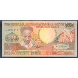 Surinam 500 Gulden PK 135b (9-1-1.988) S/C