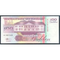 Surinam 100 Gulden PK 139b (10-2-1.998) S/C