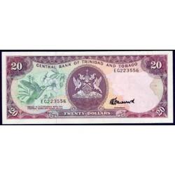 Trinidad y Tobago 20 Dólares PK 39c (1.985) S/C