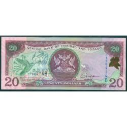 Trinidad y Tobago 20 Dólares PK 44b (2.006) S/C