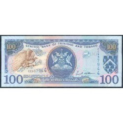 Trinidad y Tobago 100 Dólares PK 45b (2.006) S/C