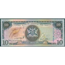 Trinidad y Tobago 10 Dólares PK 48 (2.006) S/C