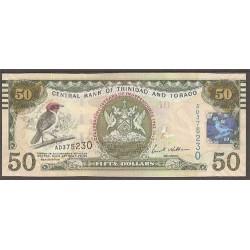 Trinidad y Tobago 50 Dólares PK 53 (2.012) S/C