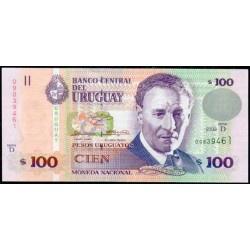 Uruguay 100 Pesos PK 85 (2.003) S/C