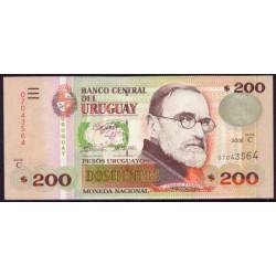 Uruguay 200 Pesos PK 89 (2.006) S/C