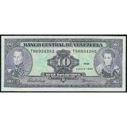 Venezuela 10 Bolívares PK 61 d (1995) S/C