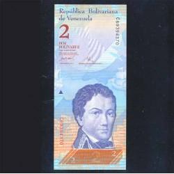 Venezuela 2 Bolívares PK 88a (20-3-2007) S/C