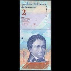 Venezuela 2 Bolívares PK 88b (24-5-2007) S/C