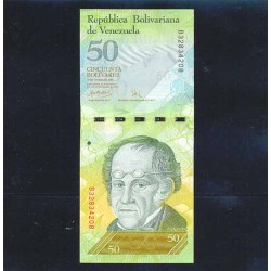 Venezuela 50 Bolívares PK 92a (20-3-2007) S/C