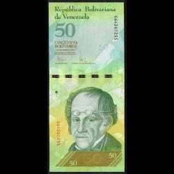 Venezuela 50 Bolívares PK 92b (3-9-2.009) S/C