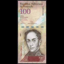 Venezuela 100 Bolívares PK 93d (3-2-2.011) S/C