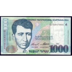 Armenia 1.000 Dram PK 50 (2.001) S/C