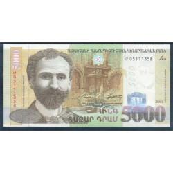 Armenia 5.000 Dram PK 51 (2.003) S/C