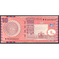 Bangladesh 10 Taka PK 39d (2.005) S/C