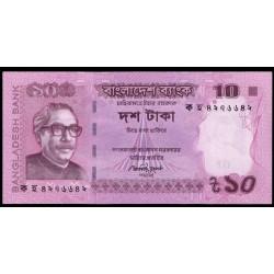 Bangladesh 10 Taka PK 54b (2.013) S/C